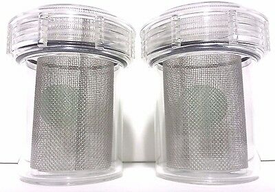 2x MARK3 DISPOSABLE EVACUATION TRAPS CANISTER 2300 (3 1/2'' x 4 3/8'')