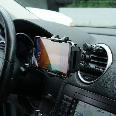 360° Adjustable Car Air Vent Mount Holder Cradle for Samsung Galaxy Note 5 / 4