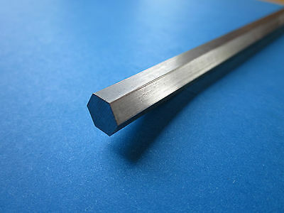 """.3125"""" (5/16) x 11-1/2"""" to 11-3/4"""" Random Length Stainless Steel Hex Rod, 303"""