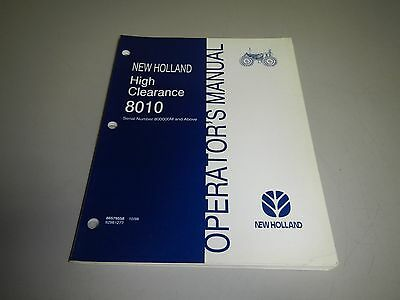 Ford new holland 7530 high clearance tractor operators manual new holland high clearance 8010 tractor operators operation manual 800000m up fandeluxe Choice Image