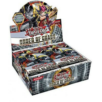YU-GI-OH - 'Order of Chaos' Factory Sealed Booster Card Box #NEW