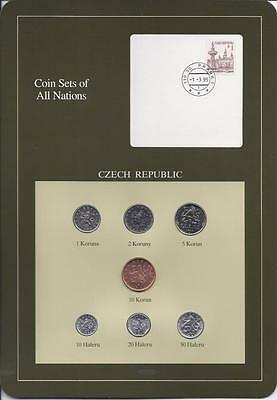Coin Sets of All Nations - Czech Republic