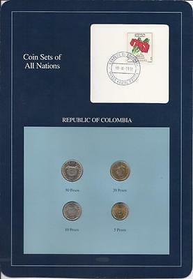 Coin Sets of All Nations, Colombia