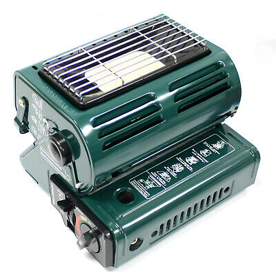 Butane LP Gas Ceramic Heater Burner Warmer For Camping Heating  Cooking Stove