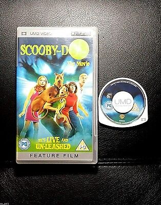 Scooby Doo The Movie (Sony PSP UMD Movie) PlayStation portable - FREE POSTAGE