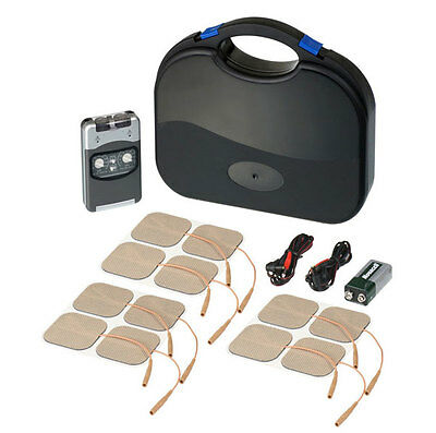PHYSIO TENS Machine  Pro Tens Machine + Extra x8 Pack (Total 12 Pads) *LATEST...