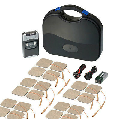 PHYSIO TENS Machine  Pro Tens Machine + Extra x16 Pads (Total 20 Pads) *LATES...