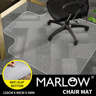 New Office Carpet Chair Mat Computer Floor Work  1200 x 900mm VinylProtector