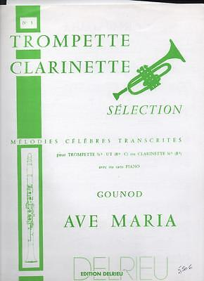 Trompette clarinette sélection N°3 AVE MARIA Gounod