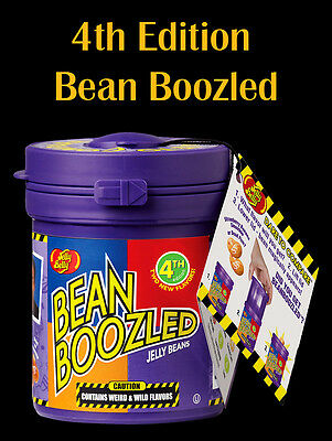 Jelly Belly Bean Boozled Mystery Bean Dispenser 4th Edition BeanBoozled