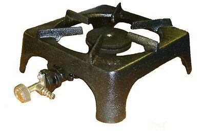 Single Cast Iron Gas Boiling Ring/burner/lpg/propane/butane/catering/cooking
