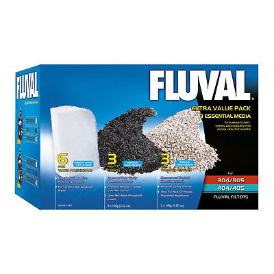 Fluval Extra Value Media Pack for 305/405, 306/406 External Filters