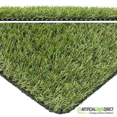 Cambridge 25mm Artificial Grass - Artificial Garden Lawn Fake Grass Cheap Roll