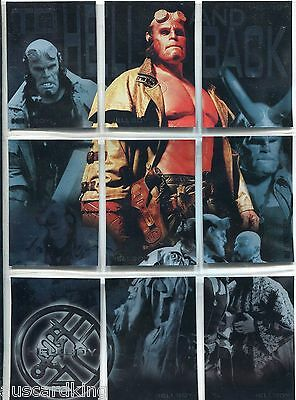 Hellboy - To Hell And Back - Puzzle Chase Card SET (9) - NM