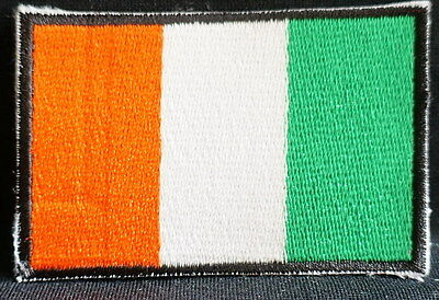 "IRELAND EMBLEM PATCH SEW ON EASY TO USE 2""x3"""