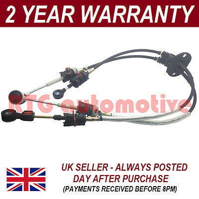 Ford Transit Connect + Tourneo 1.8 Diesel 2003-2013 Gear Selector Cables Set