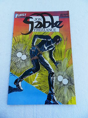 Jon Sable Freelance 8. Mike Grell -First 1983 -  VF