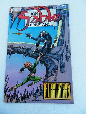 Jon Sable Freelance 9. Mike Grell -First 1983 -  VF