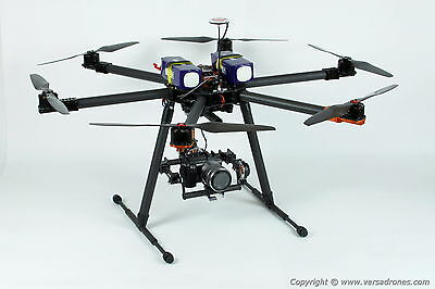 HEXACOPTER DRONE- heavy lift FLYING TIME OVER 30 min!!!