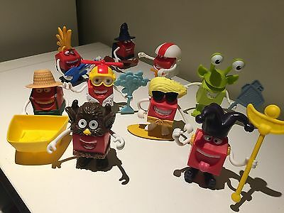 McDonalds Happy Meal Toys Mix and match fun 9 figures