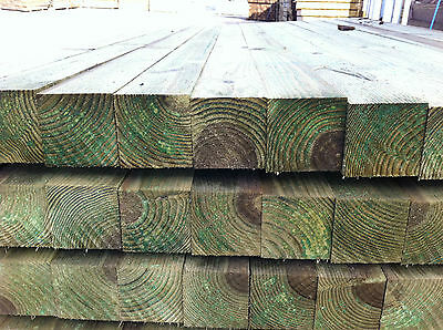 Wooden Fence Post - FREE DELIVERY 50 MILES FROM BOSTON