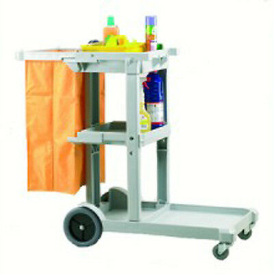 Janitorial Cart with bag - Cheapie Chappie - Ideal for limited spaces