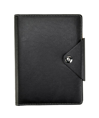 A5 Executive Organiser Ruled Notebook Padded Cover With Stud closure x 1