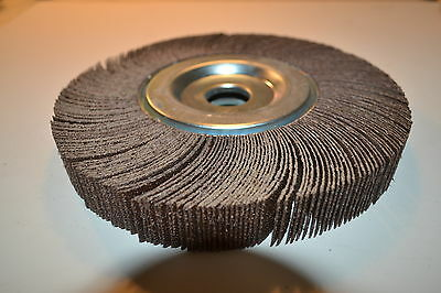"New 3M USA 244E RB 50 Grit CLOTH PG 8"" x 1"" x 1""  Flap Sander Wheels WR12b.A.3-4"