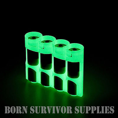 POWERPAX STORACELL BATTERY HOLDER - GLOW IN THE DARK - Moonshine Storage Caddy