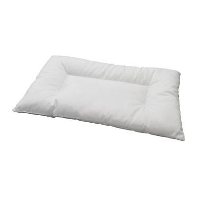 IKEA LEN Machine-Washable Pillow For Cot Baby Childs 12 Month+ White NEW