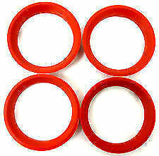 Spigot Rings  66.6 - 57.1 To Fit  Audi 200