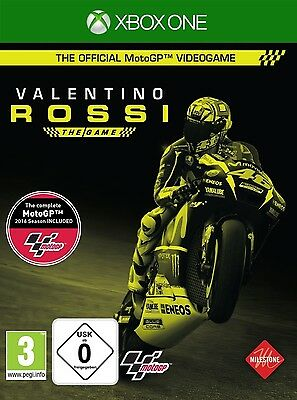 XBOX ONE Valentino Rossi The Game MotoGP 16 2016 NEU&OVP