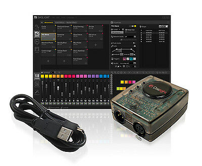 Daslight DVC4 Gold DMX Software Package Lighting Controller Disco DJ Stage Light