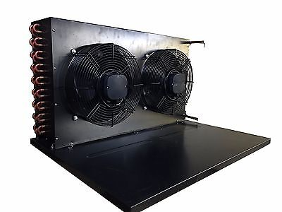 """New Condenser With Fans & Base for 4 HP Condensing Unit 33.5""""L X 26.5""""D X 18.5""""H"""