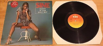 Sine - Happy Is The Only Way Lp Vinyl S Cbs 82870 Vg+ / Vg Rare Disco 1977