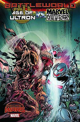 Age Of Ultron Vs Marvel Zombies #2 Marvel Comic Book