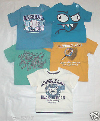 The Childrens Place Infant Toddler Boys TShirts Spanish Various Sizes NWT