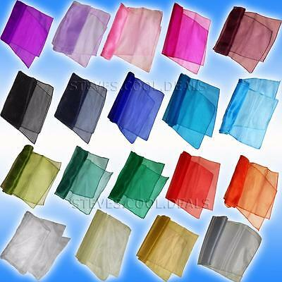 3 Meters Table Runner Organza fabric Sash Stitched Edge Guests Buffet Top table
