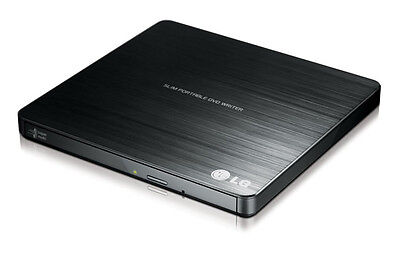LG SUPER MULTI PORTABLE DVD 8x Slim USB2.0 DVD Writer Burner M-DISC™ SUPPORT