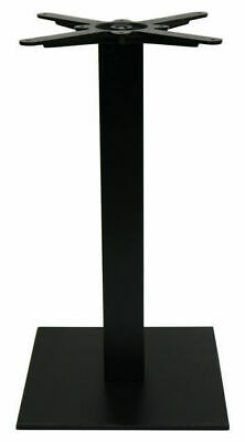New Square Cafe Pedestal Cast Iron Table Base Dining Height Table Legs 700mm H