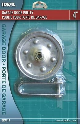 "Ideal Security SK7114 4"" DIAMETER PULLEY FOR GARAGE DOOR stationary or spring"