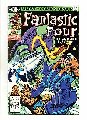 Fantastic Four Vol 1 No 221 Aug 1980 (VFN+) Marvel, Modern Age (1980 - Now)