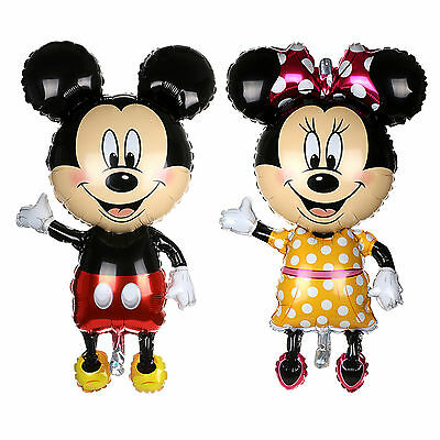 114*63cm Supershape Foil Balloon Mickey Mouse Baby Shower Birthday Party Decor