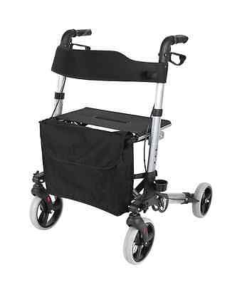 Seat Walker – Travel Lite Portable Outdoor Seat Walker with Seat and Bag + Crutc
