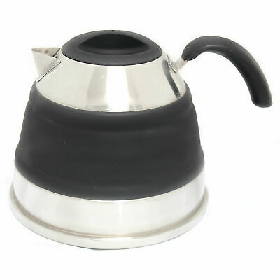 Companion Pop Up Kettle 1.5L  Black New Camping Caravan Boat Collapsible New