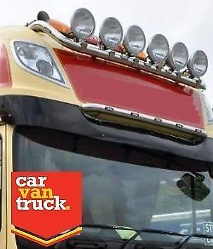 DAF XF 105 Roof Light Bar Stainless Steel Truck Light Bar