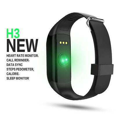 Waterproof Smart Band Wrist Watch Bracelet Heart Rate Monitor Tracker UK STOCK