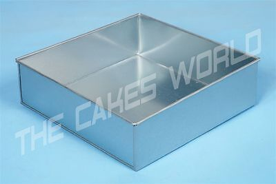 Single Square Cake Tins In Various Sizes Birthday and Wedding