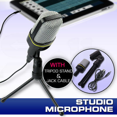 Condenser Sound Microphone Mic Studio Recording Stand Cable Professional