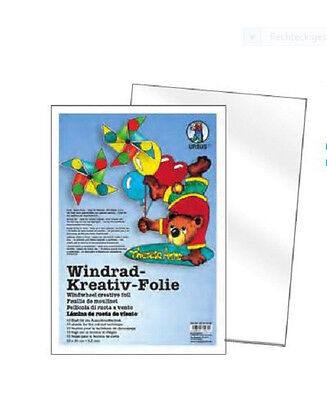 Windrad Kreativ Folie Window Color Mobile Ursus + 10 Blatt + 23cm x 33cm / 0,2mm